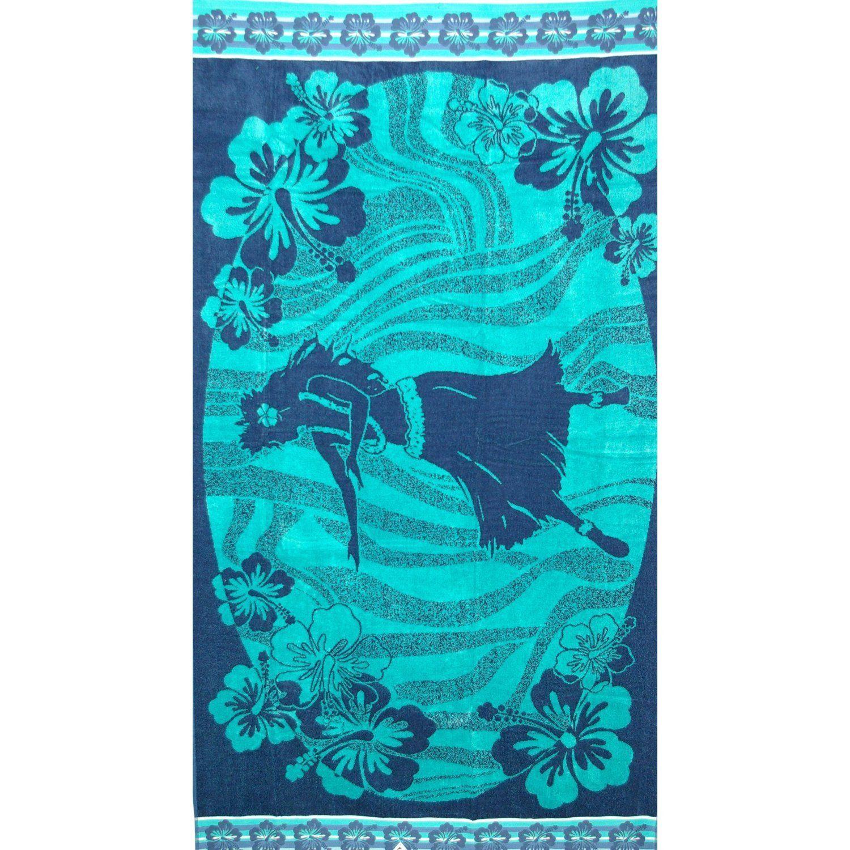 Amazon Com Luxury Oversized Beach Towels Hawaiian Girl 100