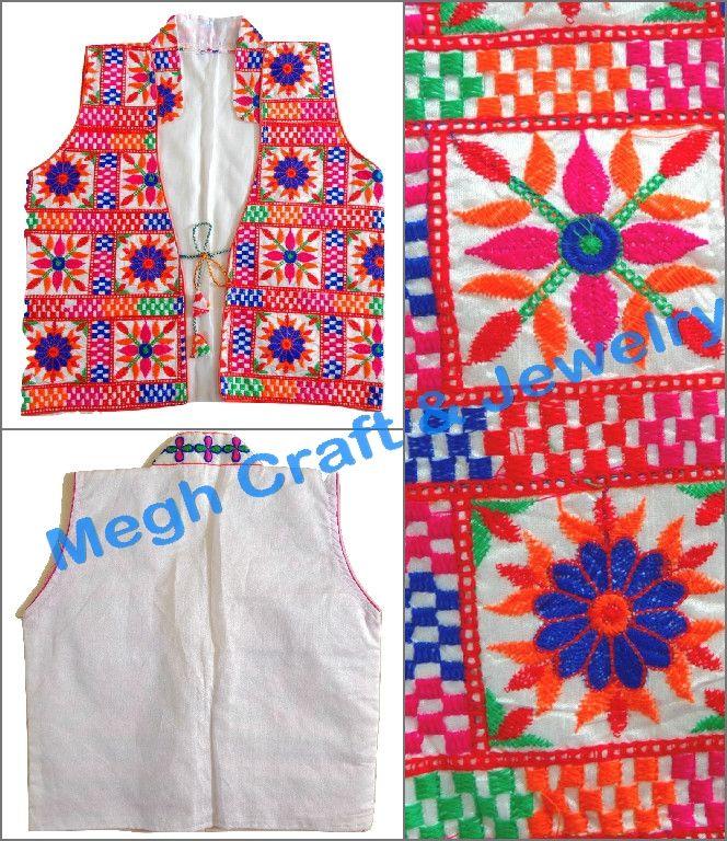 navratri wear embroidery work koti, for ladies, bohemian navratri wear embroidery work koti, boho navratri wear embroidery work koti,