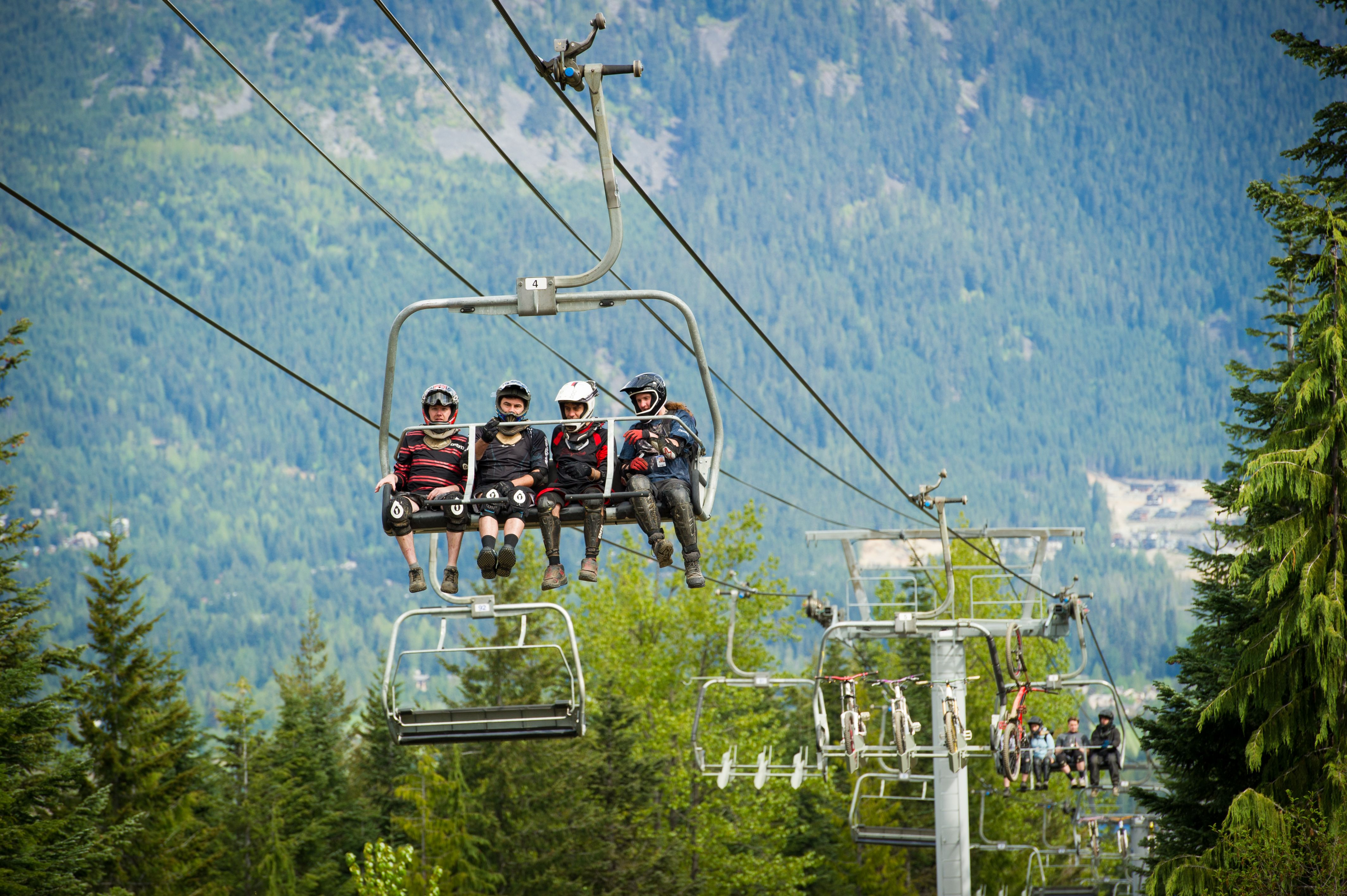 Summer mountain biking vacations in Whistler, BC, Canada