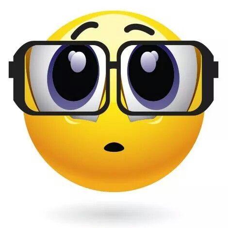 big eyeglasses emoticon emojis pinterest smiley smileys and rh pinterest com Thank You Smiley Face Clip Art Animated Smiley Face Clip Art