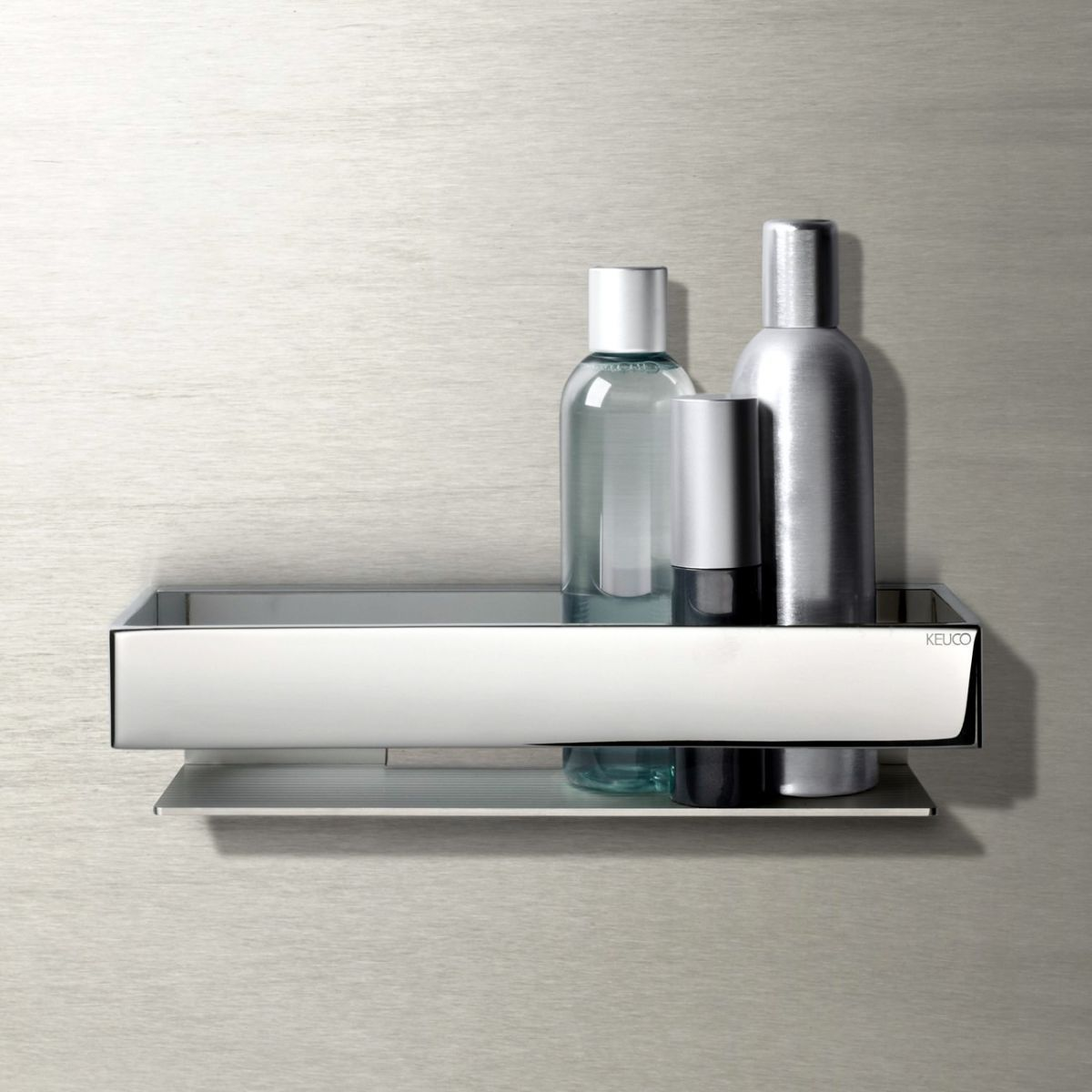 Keuco Edition 11 Shower Basket with Integrated Glass Wiper ...