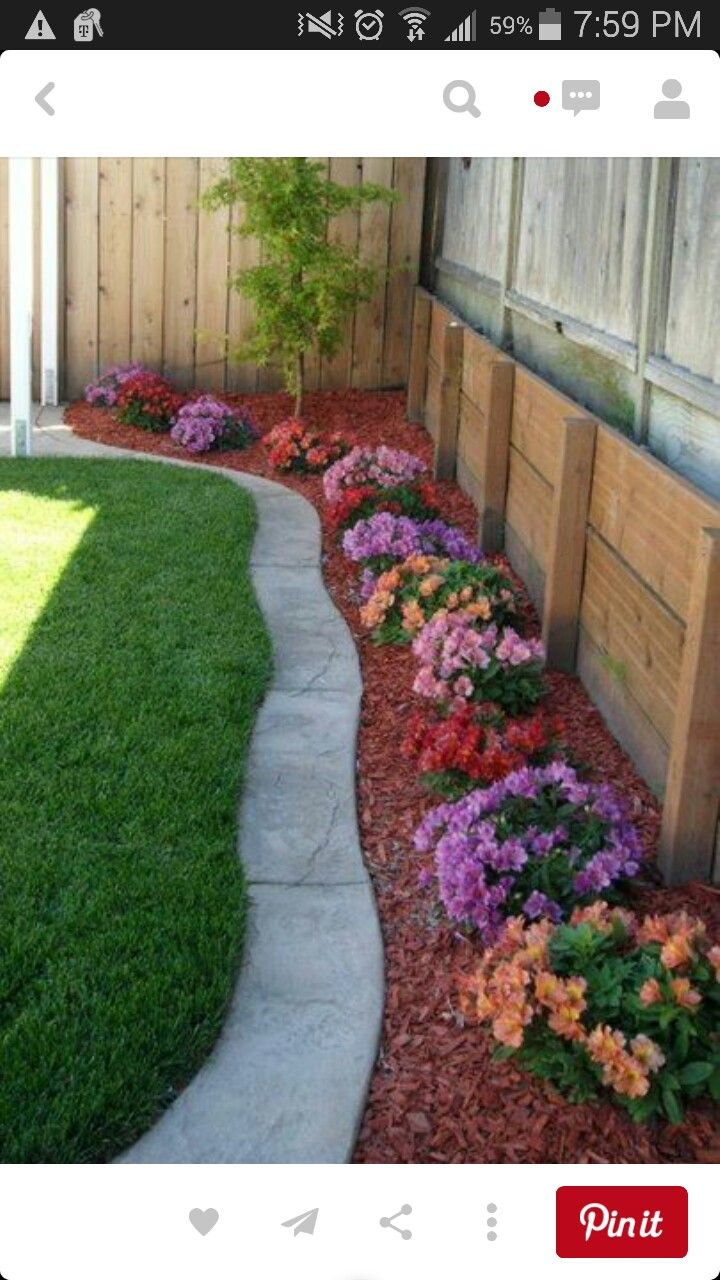 Landscaping Backyard Pinterest