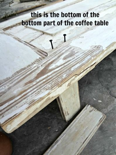 High Quality Old Door Upcycle   How To Make A Coffee Table Out Of Old Doors