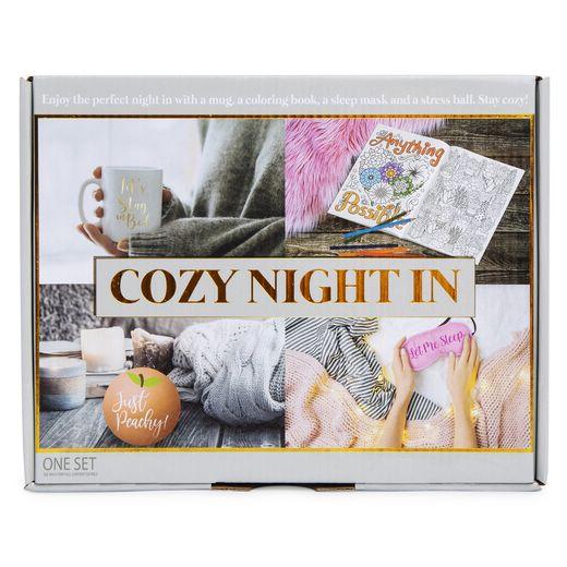 Cozy Night In Gift Set W Mug Coloring Book More In 2021 Coloring Books Cozy Nights Mindfulness Colouring