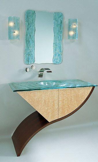 Diseños de cuartos de baño originales con creativos modelos | spa ...