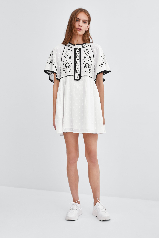 diseño de calidad invicto x código promocional VESTIDO BORDADOS | STYLE en 2019 | Zara ropa mujer, Zara ...
