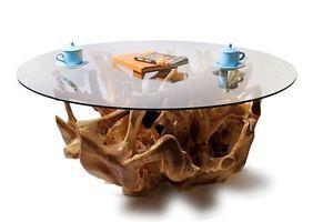 TEAK ROOT COFFEE TABLE TR08 | eBay