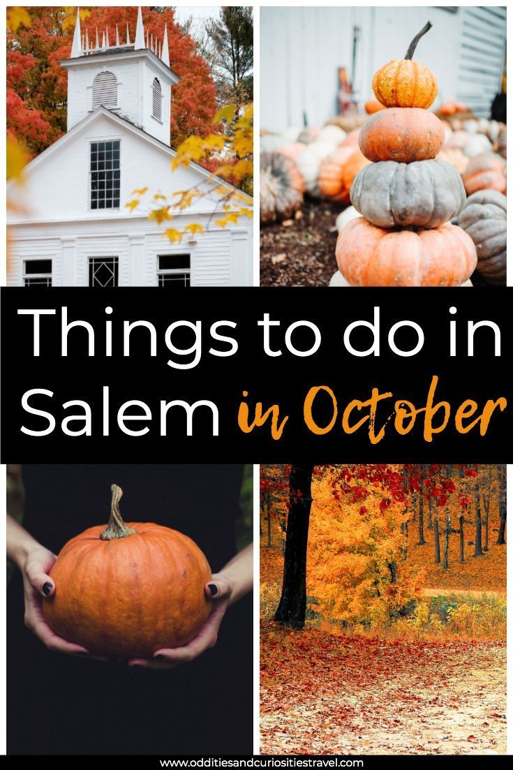 Things to Do in Salem MA in October in 2020 (With images