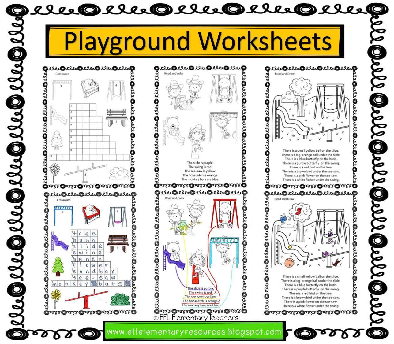 Playground Park Recess Verbs Theme For Elementary Ell In 2021 Elementary Playground Elementary Resources [ 1125 x 1287 Pixel ]