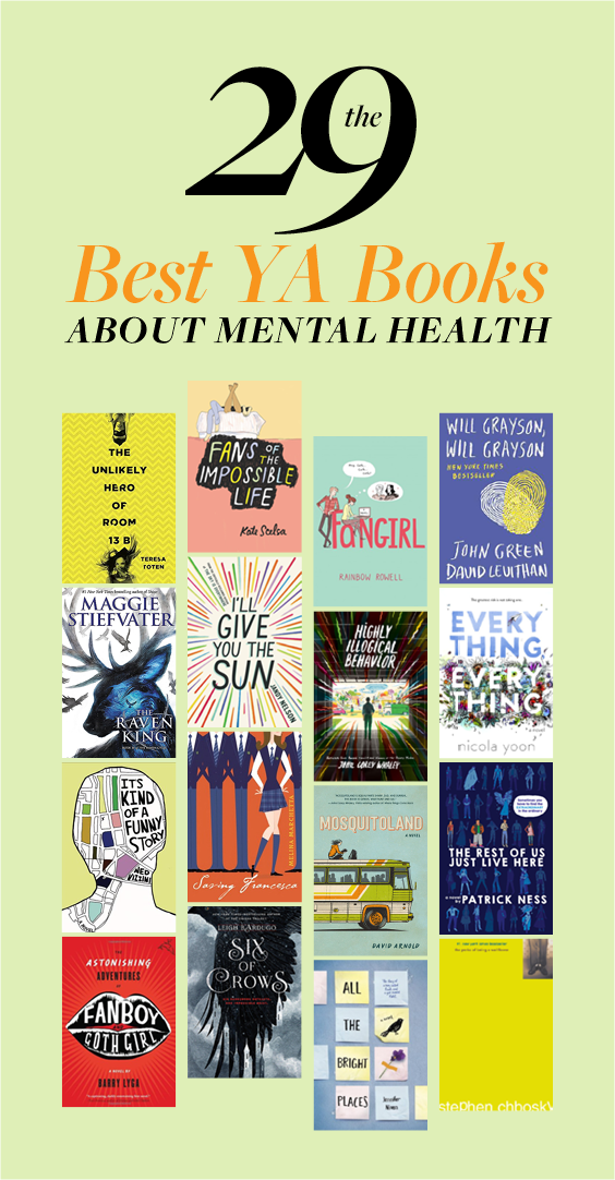29 Ya Books About Mental Health That Actually Nail It Brutally