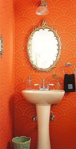 It Takes Very Little To Dress Up An Uninspired Bathroom Add Some Fresh Color Replace The Hardware Or A New Light Fixture And You Ve Got Whole