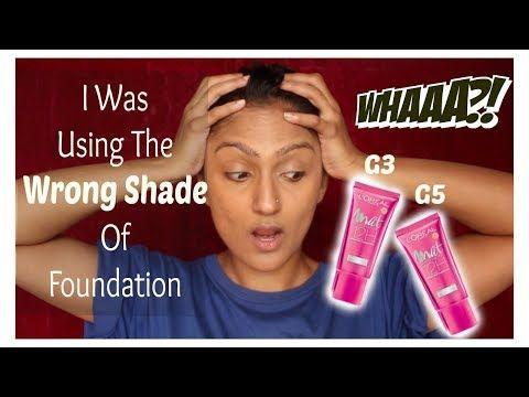 5 Using The Wrong Shade Of Foundation Loreal Mat Magique Youtube Loreal Foundation Youtube