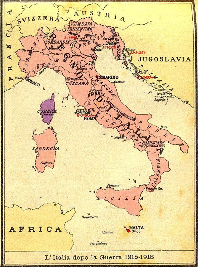 La Prima Guerra Mondiale Cartina.Pin Su Military Maps