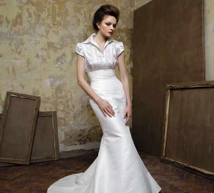 Love this dress!  Pronuptia - Rembrandt