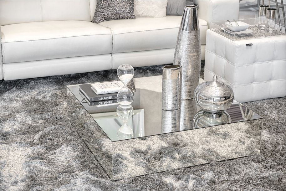 Piagia Coffee Table Coffee Table Decor Living Room Table Decor Living Room Mirrored Coffee Tables