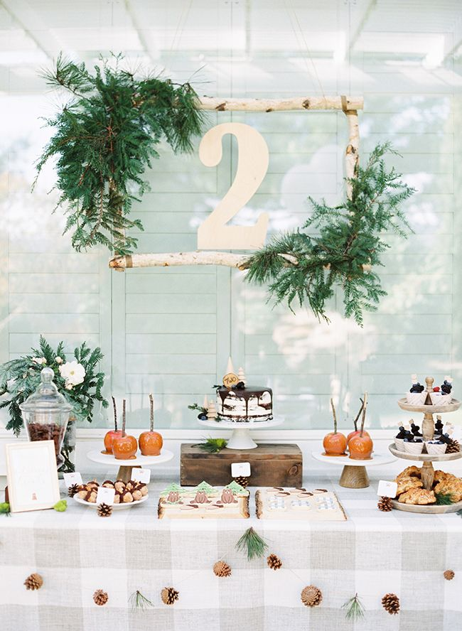 Inspired By This Woodsy Brown Bear Birthday Party