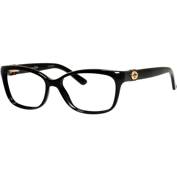 a2d08e2f2 Gucci. Medium Rectangle Fashion Glasses with Web and Interlocking G ...