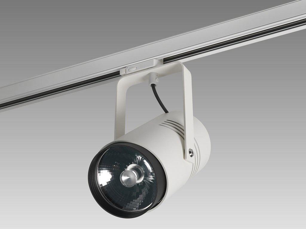 Illuminazione a binario a led in metallo moood by orbit case