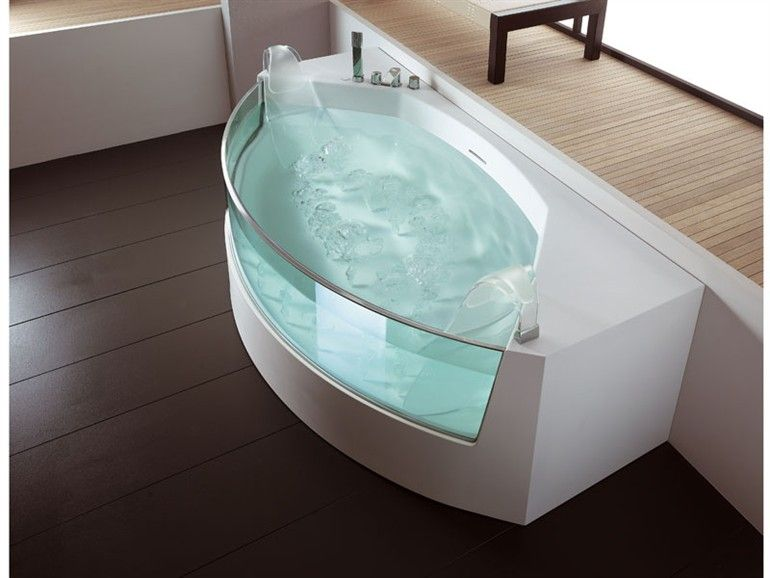 Whirlpool bathtub VIEW RETTANGOLARE View Collection by TEUCO GUZZINI ...