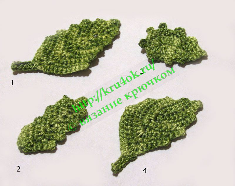 More crochet leaves diagrams only crochet leaves and flowers more crochet leaves diagrams only ccuart Image collections
