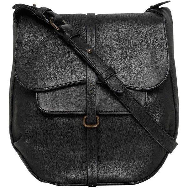 Radley Grosvenor Medium Leather Across Body Bag Black 240 Liked On