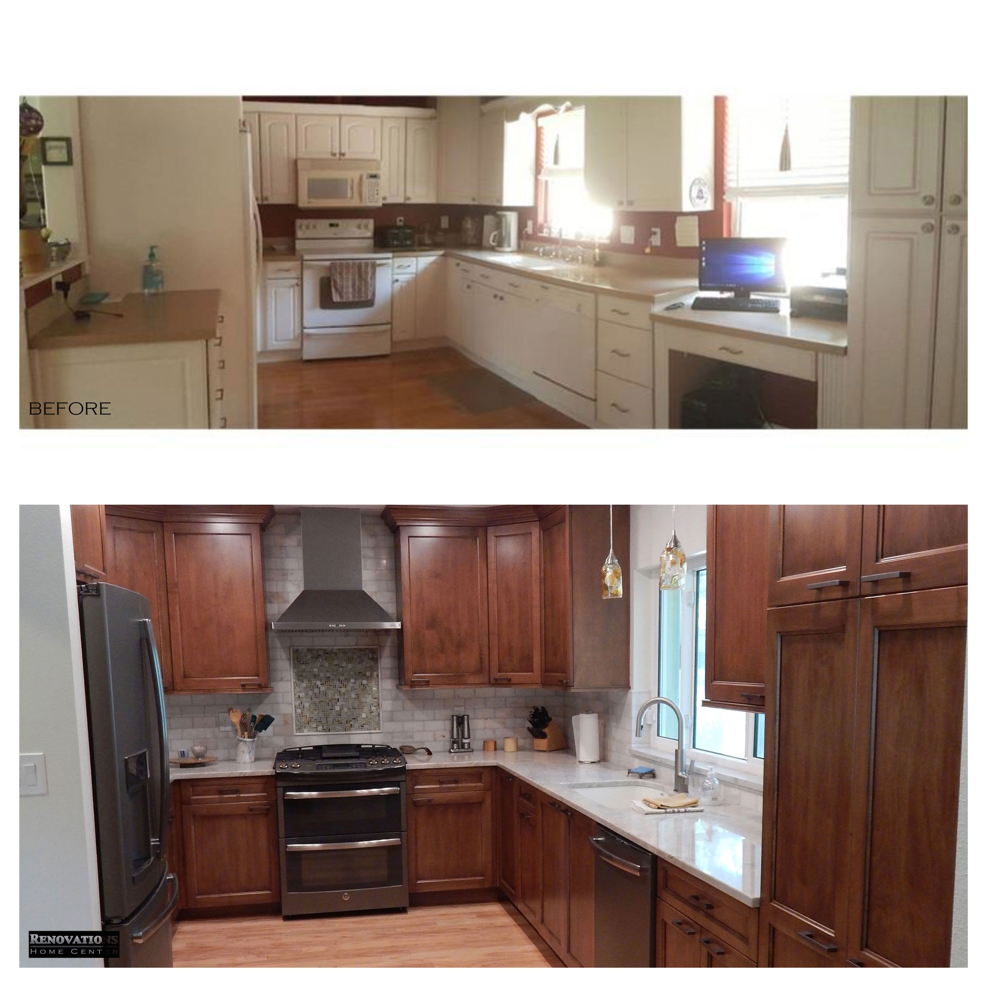 Kitchen And Bathroom Remodeling Contractors: On This Project Renovations Home Center Teamed Up With