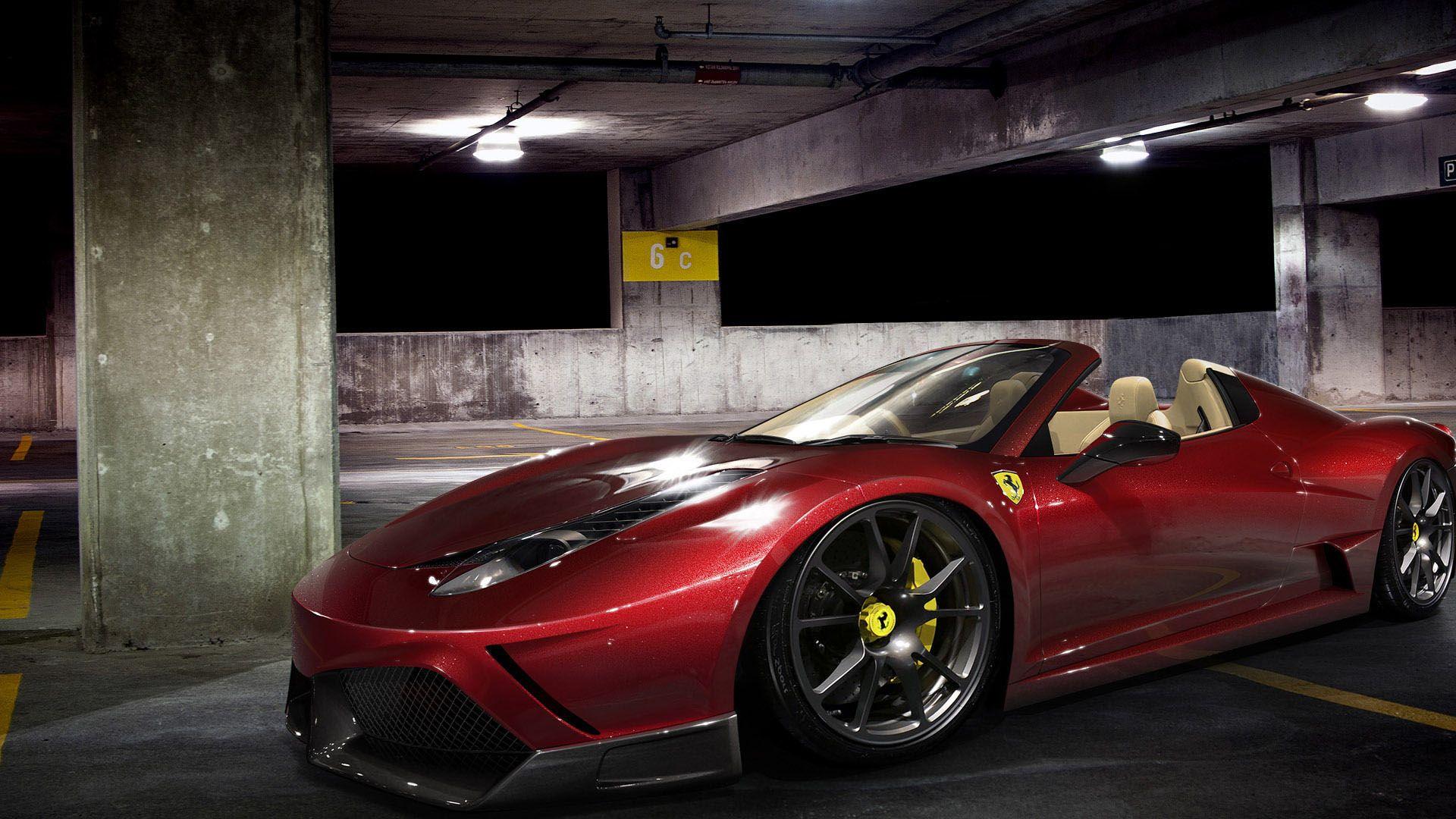 Ferrari 458 Spider Wallpaper HD 1080p Wallpaper