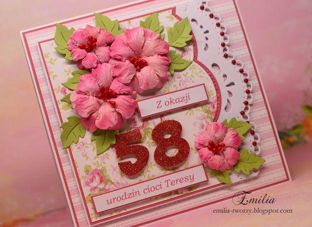 Pin Na Doske Kartki Urodzinowe Birthday Cards