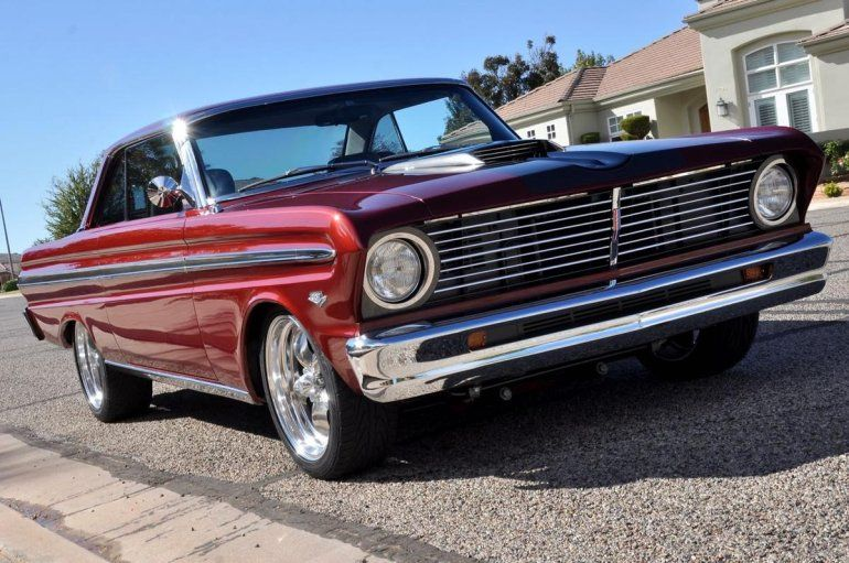 1965 Ford Falcon Sprint Custom Ford Falcon Ford Classic Cars Vintage Muscle Cars