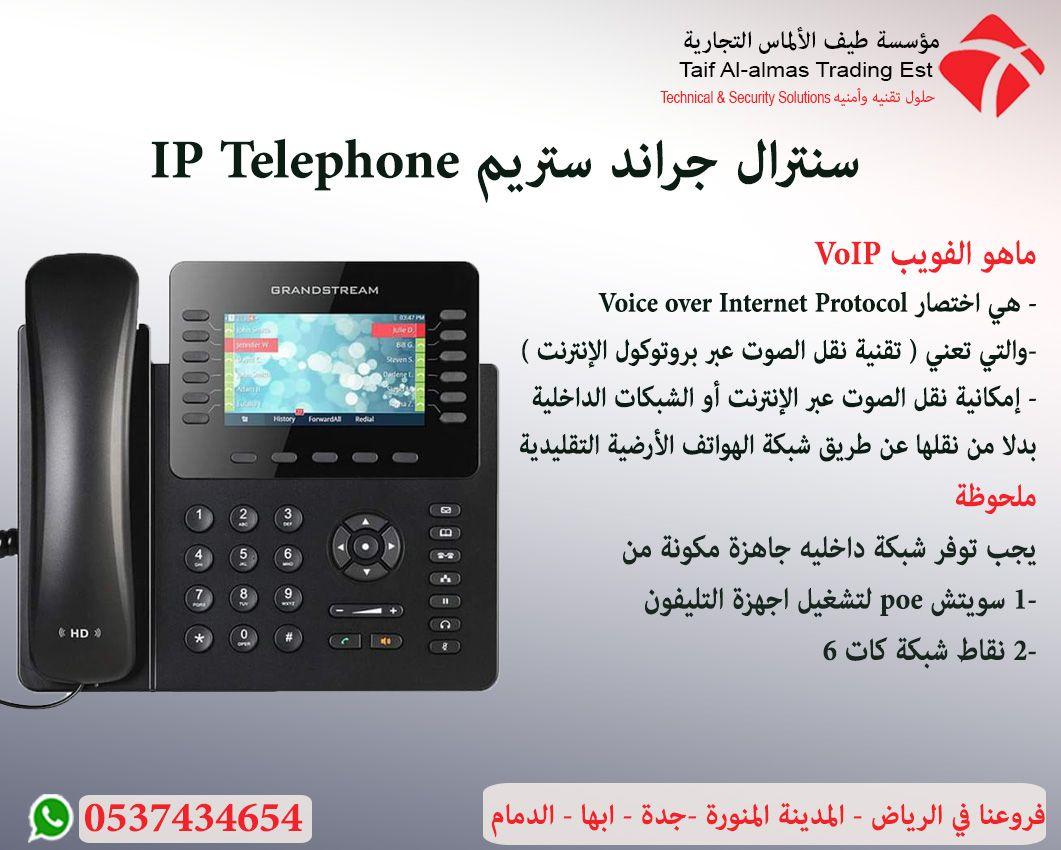 سنترالات جراند ستريم Ip Telephone Ip Telephone Voice Over Internet Protocol Voip