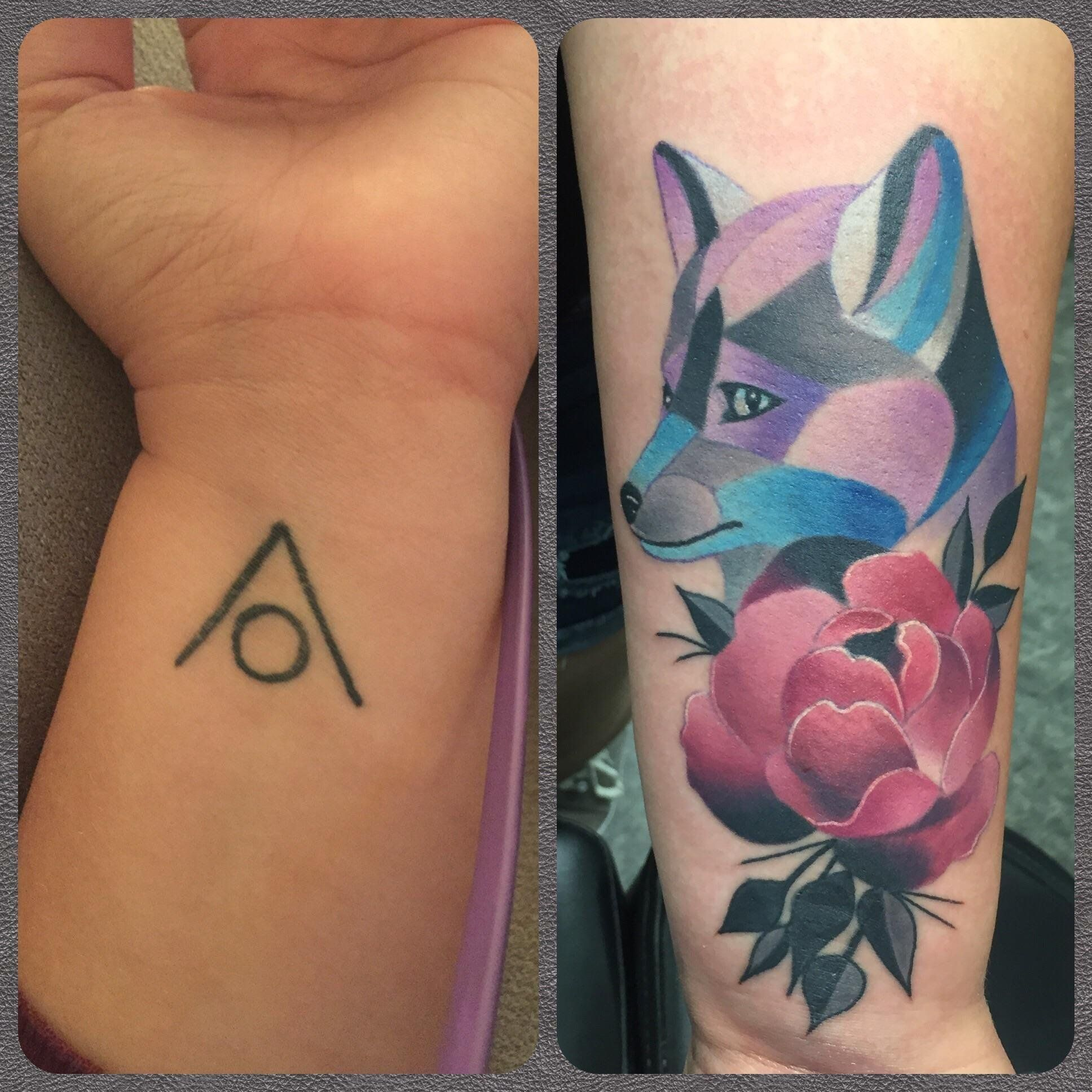 Foxy cover up by jeremy miller at pigment tattoo and laser