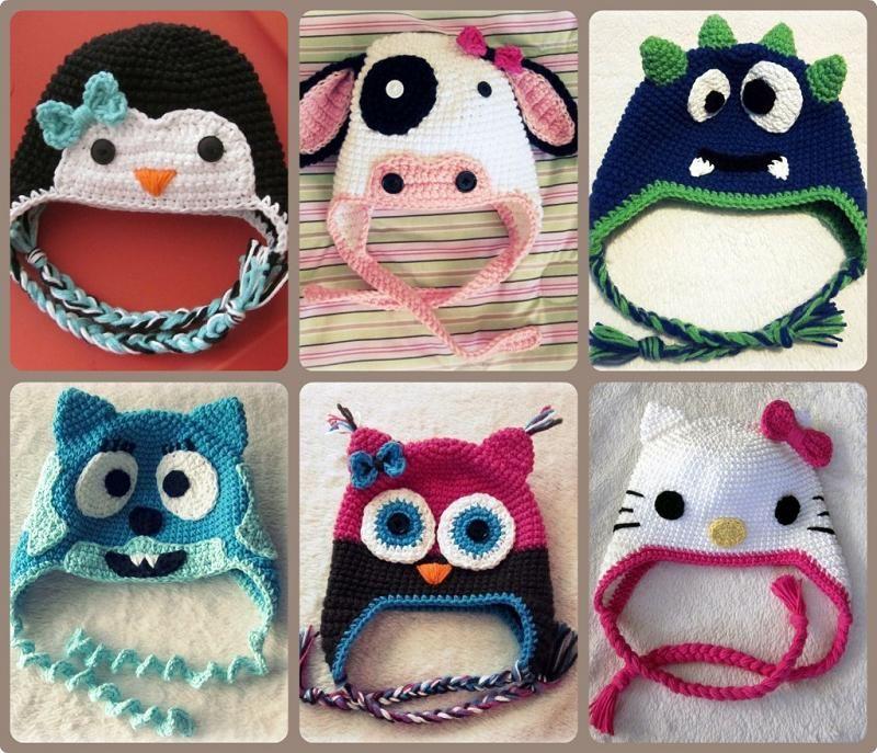 Crochet hats   Crochet   Pinterest   Gorros, Tejido y Bebe