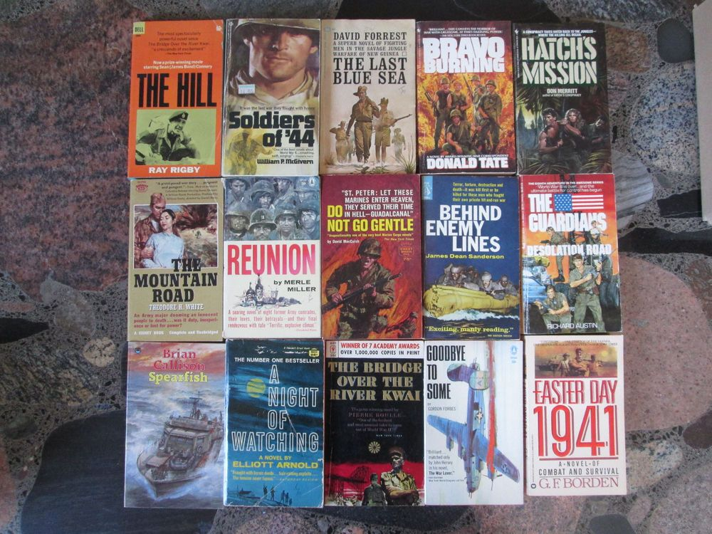 War novels lot of 15 vintage paperbacks world war ii nazis vietnam war novels lot of 15 vintage paperbacks world war ii nazis vietnam fiction books sciox Gallery