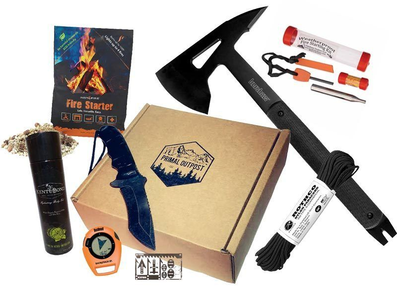 Primal Outpost A Year Of Boxes Subscription Box Design Diy Camping Box Design