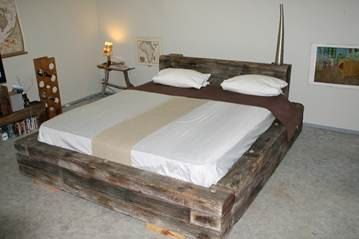 Custom Built King Size Bed Made From Genuine Grade A