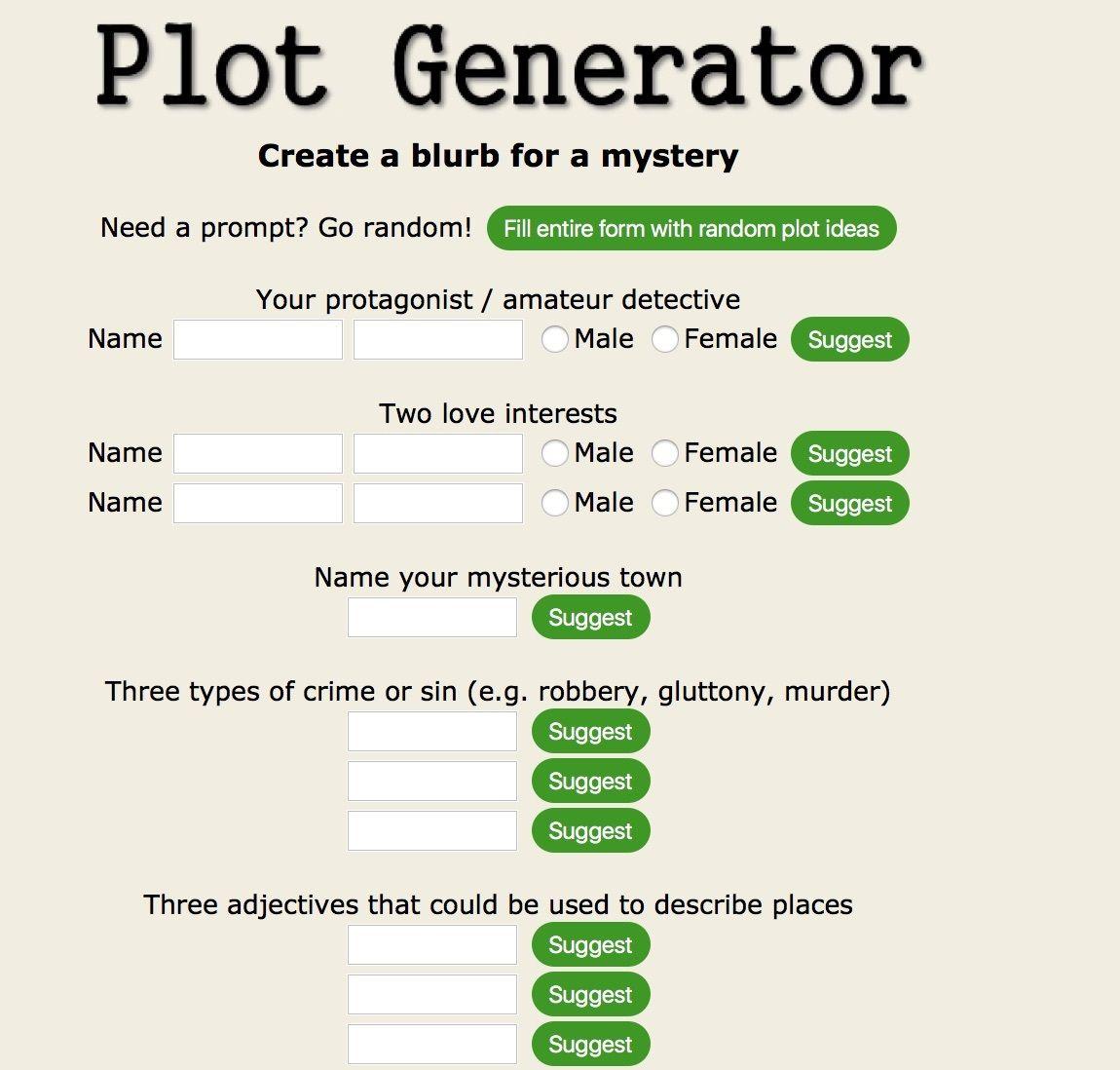 Plot Generator | Stream of My Scoop it Sites | Author