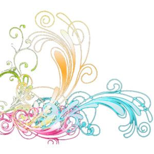 PSD Detail | Vibrant Swirls | Official PSDs - Polyvore