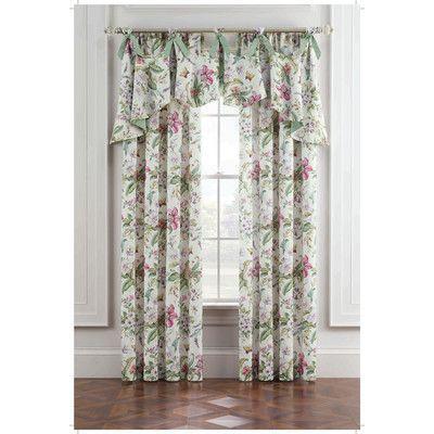 Royal Heritage Home Williamsburg Palace Green Curtain Panel