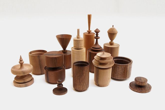 Standing Alone Vessels By Los Angeles Based Furniture Maker James