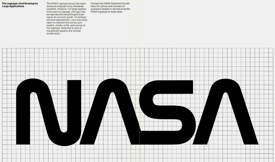 NASA's Logo From The '70s Was Ridiculously Cool Brand