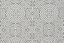 Grey and White print furnishing fabric from Love Fabric - Santorini