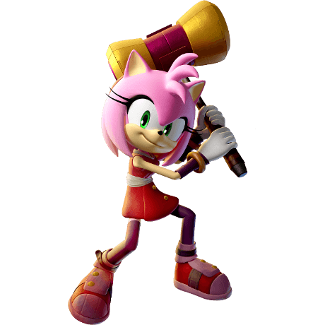 Amy Fire Ice From The Official Artwork Set For Sonicboom Fire And Ice On The Nintendo 3ds Sonicthehedgehog Http Sonicsc Sonic Boom Amy Sonic Sonic Boom