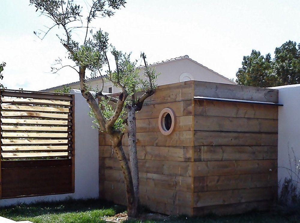 Abri De Jardin En Bois De Recuperation Bureau De Jardin