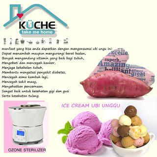 kuche indonesia: Resep Ice Cream Ubi Unggu