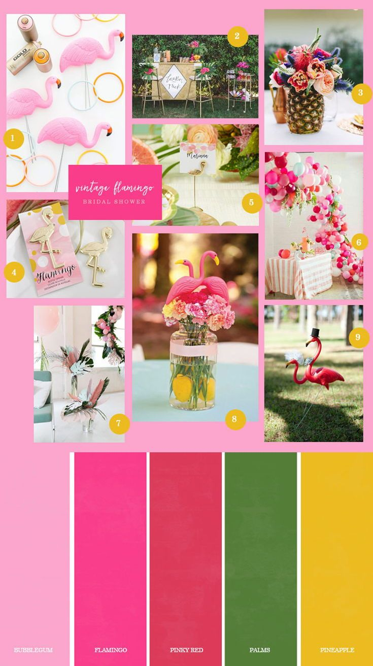 Ideas for a Flamingo Bridal Shower | Pinterest | Bridal showers ...