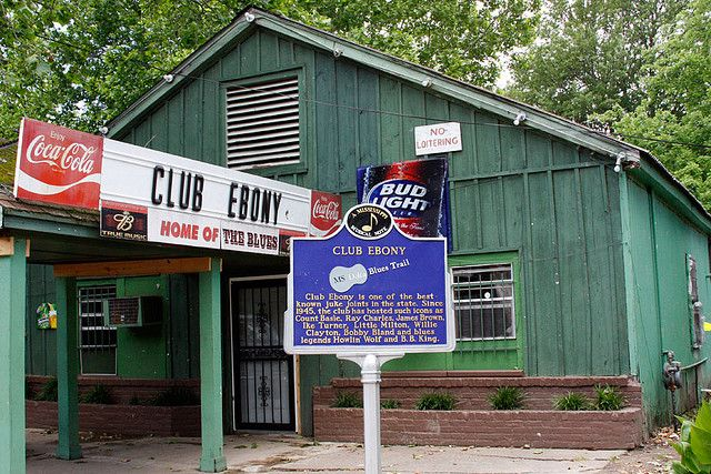 Club Ebony, Home of the Blues, Indianola MS