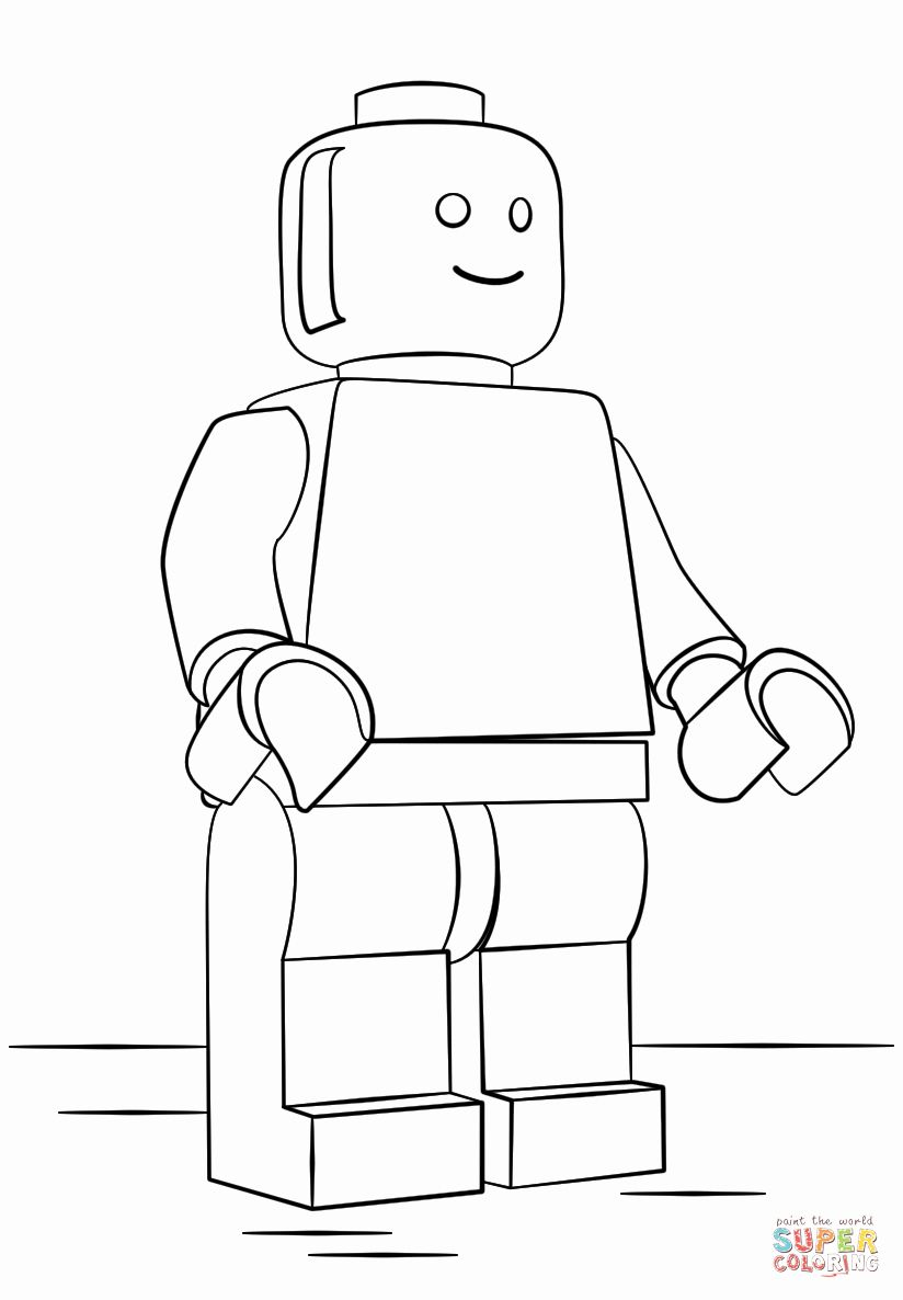 Lego Man Coloring Page Beautiful Lego Character Coloring Pages Coloring Home Lego Coloring Pages Lego Man Lego Coloring