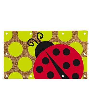 Look What I Found On Zulily Ladybug Lighted Doormat