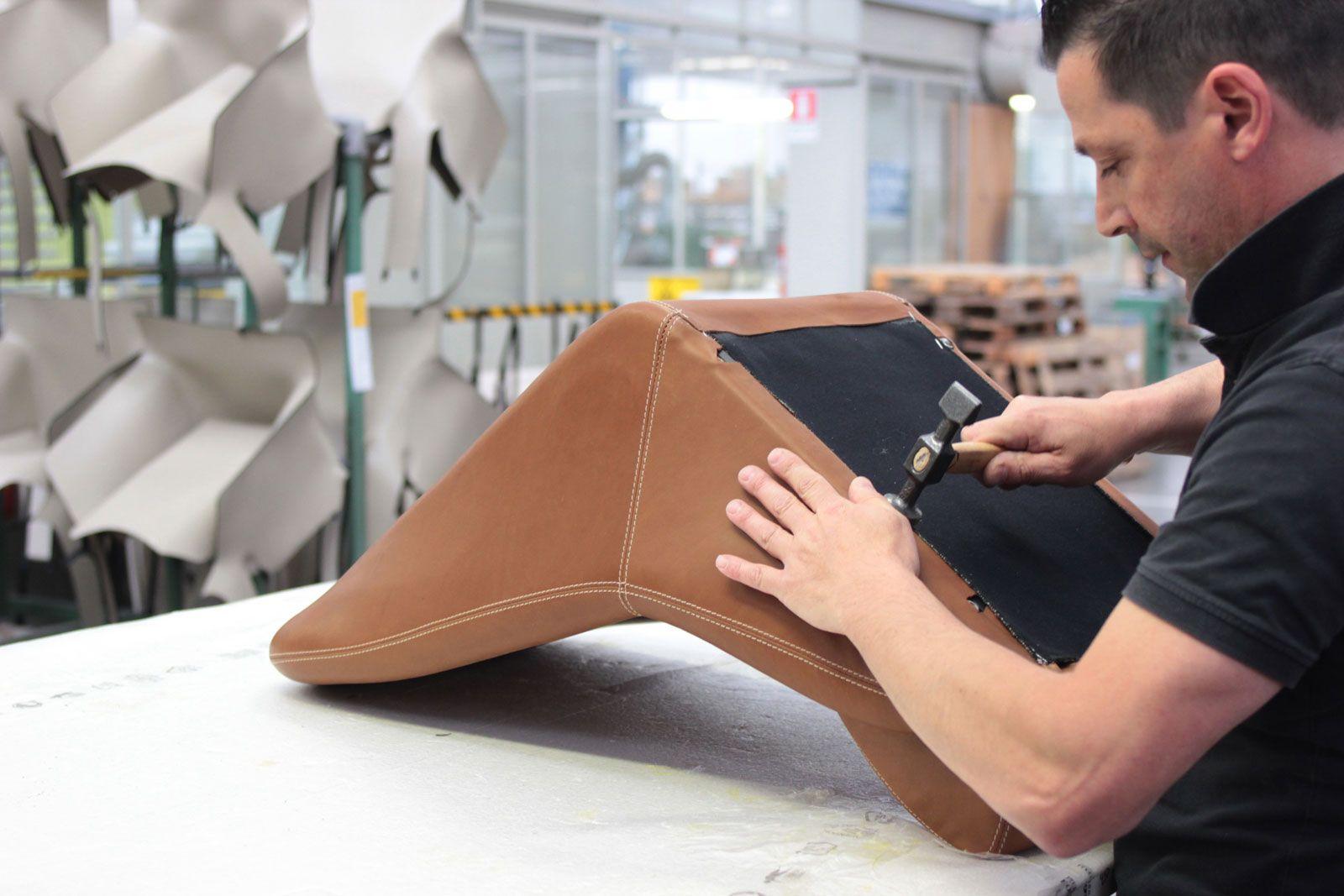 Effeffe Berlinetta Interior - Manufacturing Process at Matteograssi