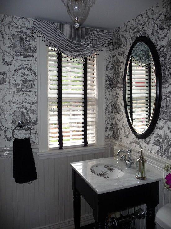 New Sink For The Powder Room Bathroom Wallpaper Bathroom Design